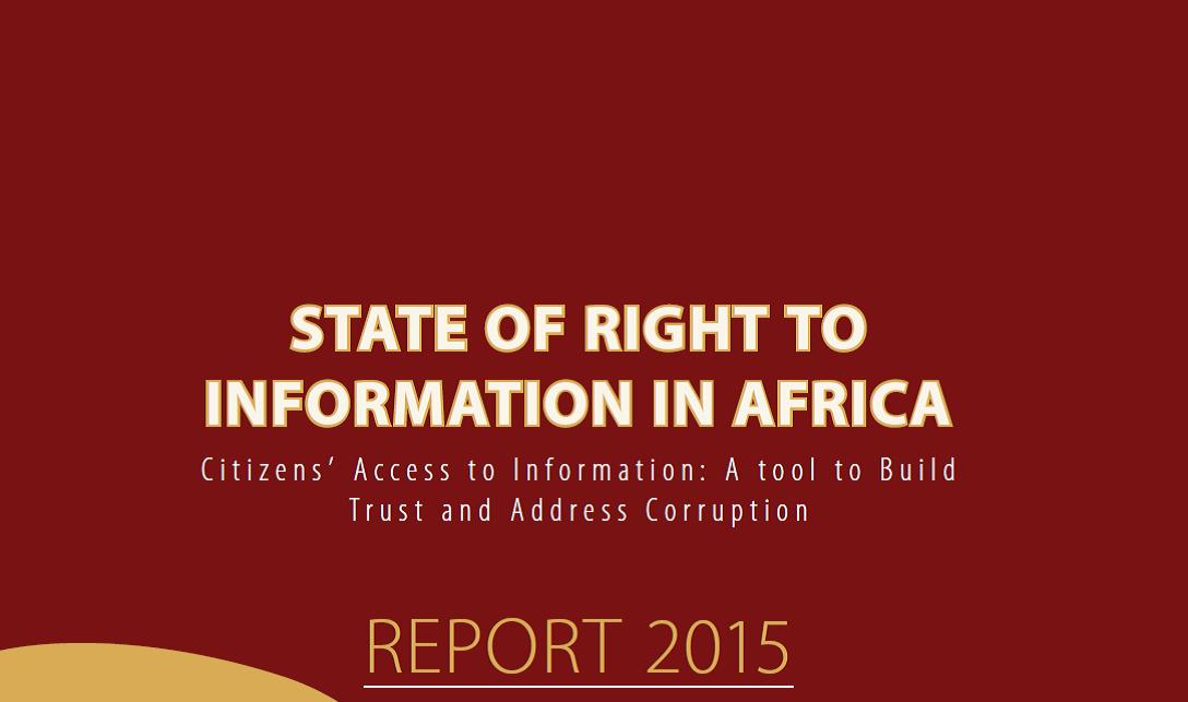 State of RTI 2015